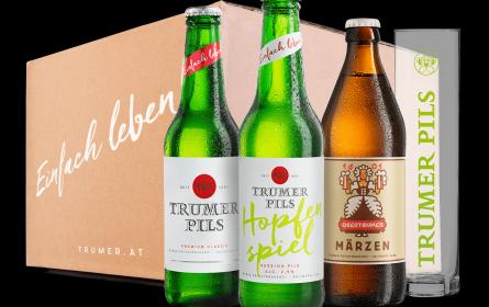 Frühlingshafter Biergenuss mit der neuen Trumer Hopfenbox