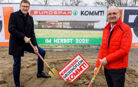Neubau Nahversorger: Spatenstich für Eurospar in Großhöflein