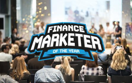 Wahl der Finance Marketer of the Year in sechs Kategorien startet am 1. März