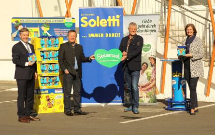 Soletti – das Original aus der Steiermark. Nun mit Grünem Herz