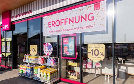 Bipa eröffnet neu in Klagenfurt