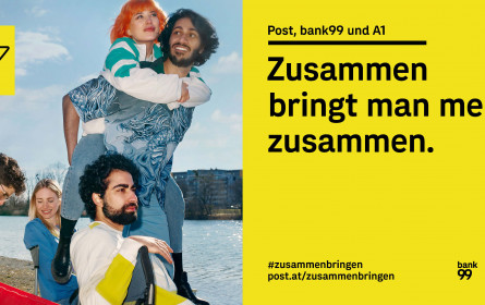 """Die Österreichische Post und """"Violet"""" starten ihre erste gemeinsame Großkampagne"""