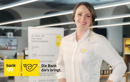 bank99 startet neue Werbekampagne
