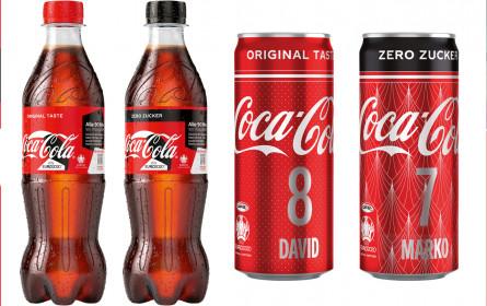 Coca-Cola weckt Vorfreude auf UEFA Euro 2000