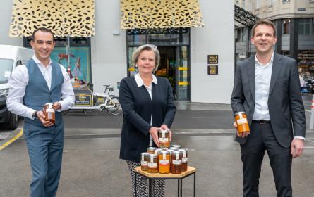Spitzenköchin Lisl Wagner-Bacher kocht für Billa