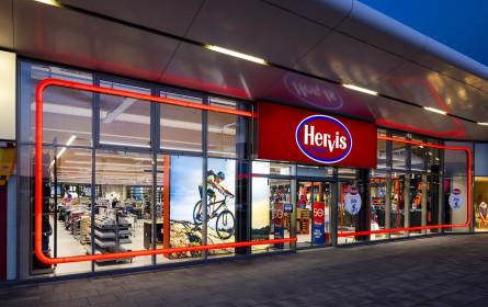 Hervis: Store-Eröffnung in Eisenstadt am 22. April