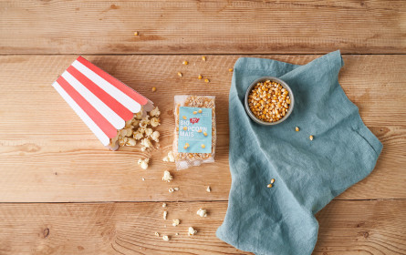 Ja! Natürlich Popcornmais in höchster Bio-Qualität aus dem Weinviertel neu im Regal