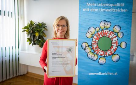 """""""Meine Wollke"""" bekommt das Österreichische Umweltzeichen"""