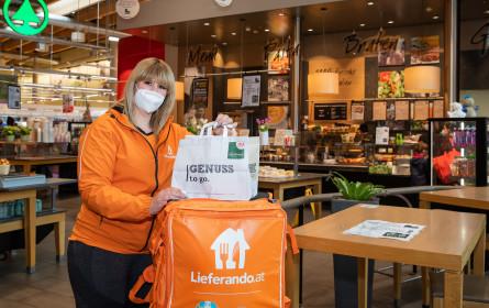 Interspar startet Kooperation mit Lieferando.at
