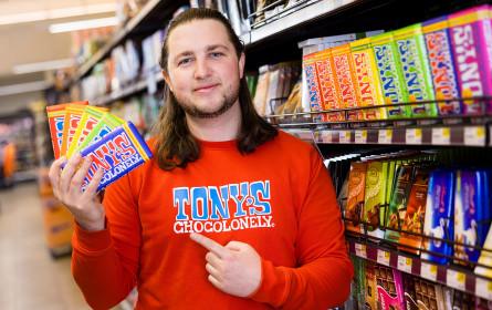 Tony's Chocolonely faire Schokolade bei Spar