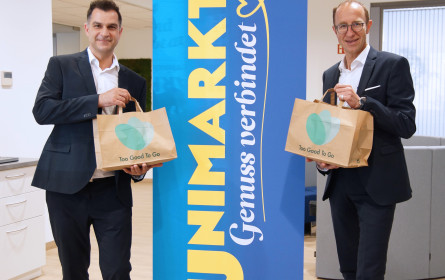 Unimarkt und Too Good To Go retten gemeinsam Lebensmittel