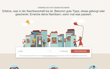Relaunch von Österreichs größtem Nachbarschaftsnetzwerk FragNebenan.at