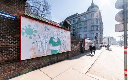 "Wien sagt Danke mit der ""Thank You Heroes""-Kampagne"