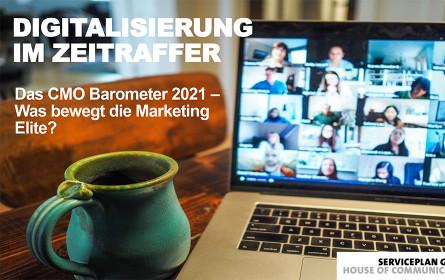 """Das aktuelle """"CMO Barometer"""" der Serviceplan Group"""