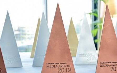 Der Media Award biegt in die Zielgerade