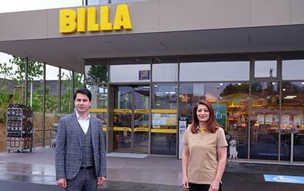 Neuer Billa in Oberndorf bei Salzburg