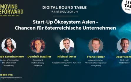 Digital Round Table zum Start-up-Ökosystem Asien