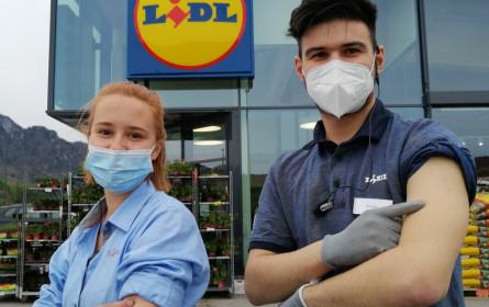 Impfstart bei Rewe Group & Lidl Österreich