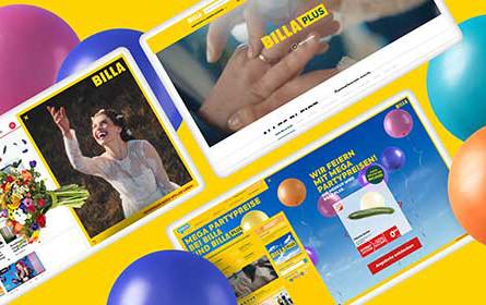 Billa Plus setzt auf großangelegte Kampagne von Tunnel23