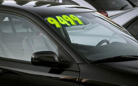 Gebrauchtwagenpreise stark angezogen