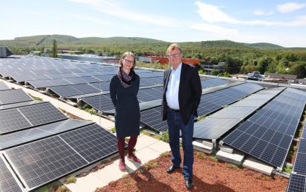 Sonnenkraft für das Auhof Center