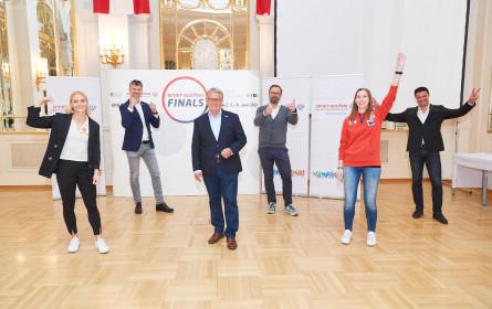 Sport Austria Finals: Riesen-Impuls für Sport-Comeback