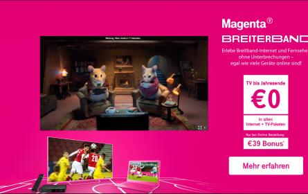 MediaCom macht Magentas Breiterband-Angebot für alle sichtbar