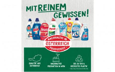 """Henkel lässt Österreicher """"mit reinem Gewissen"""" einkaufen"""