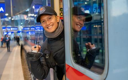 65. Song Contest: Vincent Bueno fuhr mit dem Nachtzug nach Rotterdam