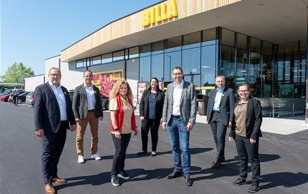 Wiedereröffnung in Steyr: Billa-Markt präsentiert sich im neuen Gewand