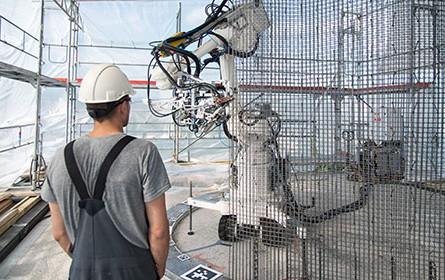 Roboter am Bau