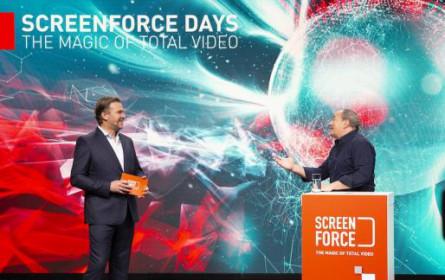 Screenforce Days: Der Blick in das neue TV-Zeitalter