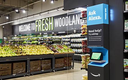 Amazon bringt Einkaufen ohne Kassen erstmals auf Supermarkt-Größe
