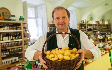 Die echten Heurigen-Erdäpfel sind jetzt in geschmackvoller Frische da