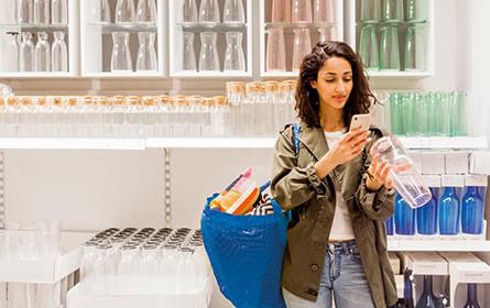 """Ikea führt neue App-Funktion """"Scan & Pay"""" ein"""