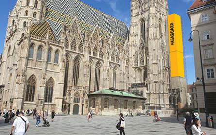 Megaboard hat Stephansdom-Südturm neu im Portfolio