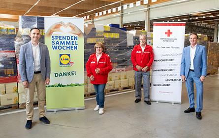 Lidl Österreich Spendensammelwoche