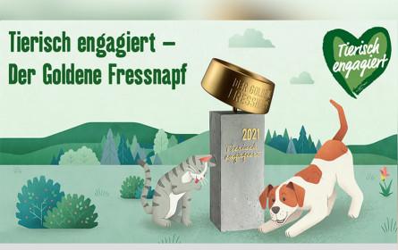 """Bewerbung für """"Goldener Fressnapf 2021 läuft an"""