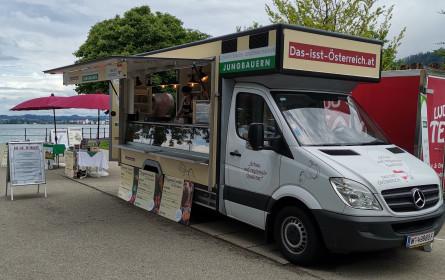 Jungbauern ziehen Bilanz: Food-Truck Tour war ein Erfolg