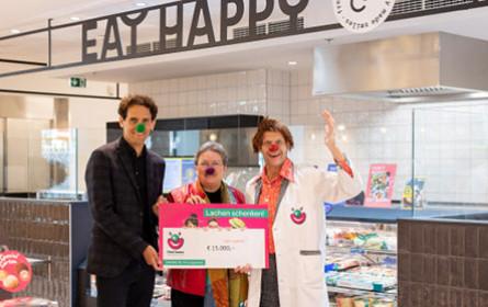 EatHappy und Cliniclowns zaubern gemeinsam ein Lächeln