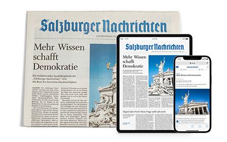 """Journalismus in Coronazeiten: Die """"Salzburger Nachrichten"""" in gleich vier Kategorien im Spitzenfeld."""