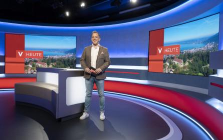 Premiere: Neues TV-Studio im ORF Vorarlberg