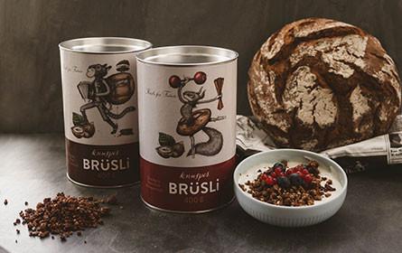 """""""Brüsli"""": DerMann spendet 400kg Brot pro Woche an Knuspermüsli-Startup"""