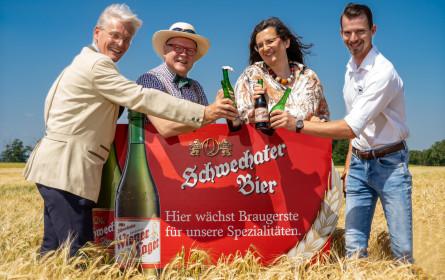 Regionale Rohstoffe verbinden Schwechater Brauerei und Dreher-Nachfahren wieder