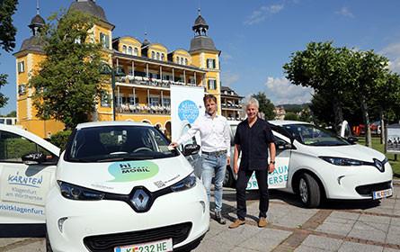 Premiere für österreichweites E-Car-Sharing