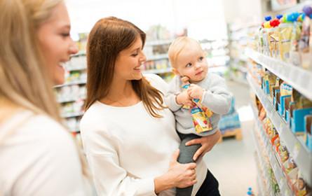 Auszeichnung für Babynahrung bei dm