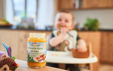 Spar launcht neue Baby-Bio-Linie