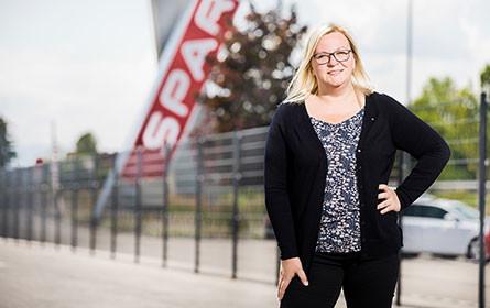 Sabrina Thaler verantwortet den Bereich Personalentwicklung bei Spar