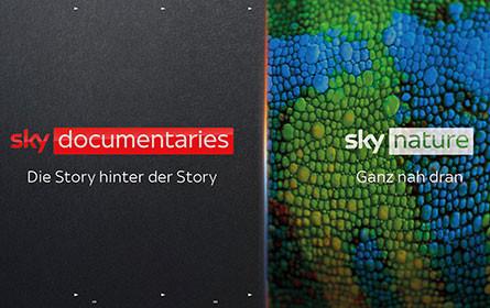 Sky Nature und Sky Documentaries starten am 9. September exklusiv auf Sky