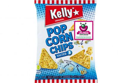 """""""Kelly Popcornchips""""-Promotion zugunsten von CliniClowns"""